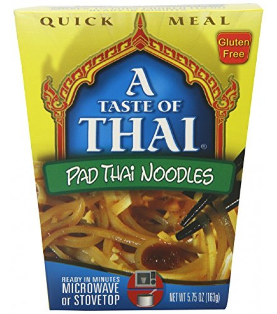 [A Taste Of Thai] Asian Meals/Soups On The Go Pad Thai Noodle