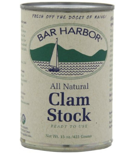 [Bar Harbor] Soups & Stocks Stock, Clam