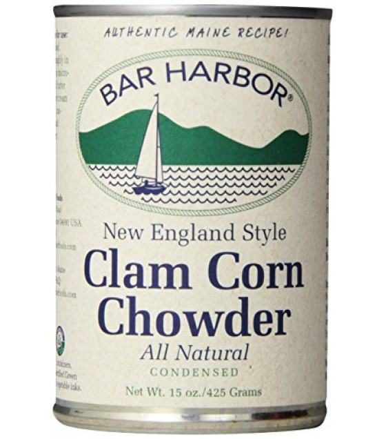 [Bar Harbor] Chowder & Bisques Chowder, Clam & Corn