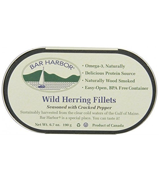 [Bar Harbor]  Herring, Smoked w/Cracked Pepper