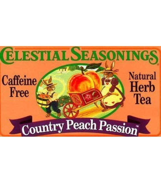 [Celestial Seasonings] Teas Country Peach Passion