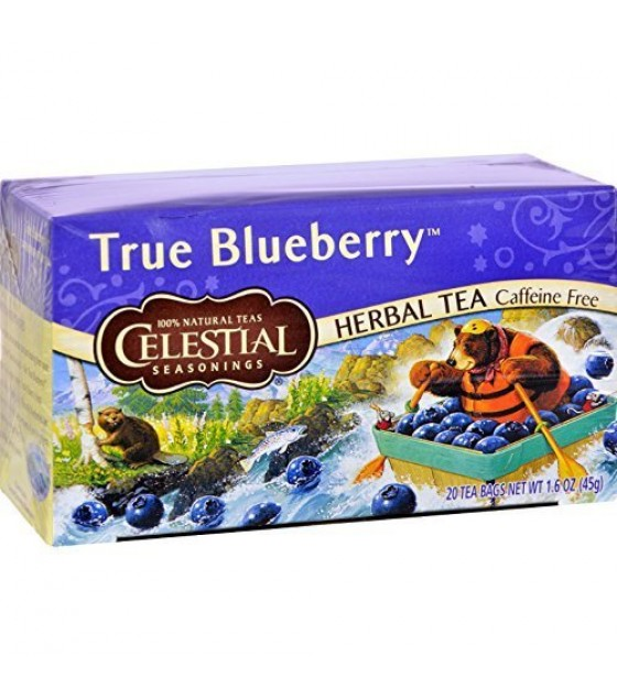 [Celestial Seasonings] Teas True Bluberry Herb