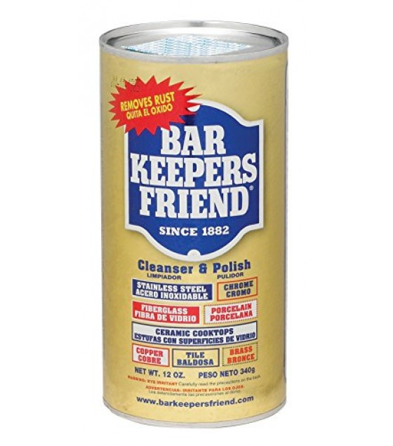 [Bar Keepers Friend] Cleanser Powder, All Natural
