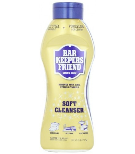 [Bar Keepers Friend] Cleanser Liquid, All Natural