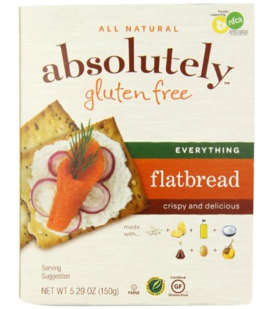 [Absolutely Gluten Free]  Flatbreads, Everything