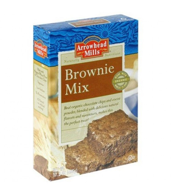 [Arrowhead Mills] Mixes Brownie  At least 70% Organic