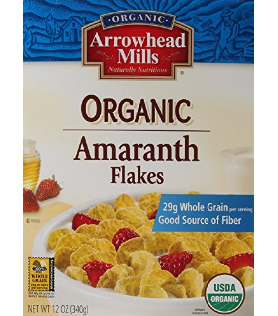 [Arrowhead Mills] Cereals Amaranth Flakes  At least 95% Organic