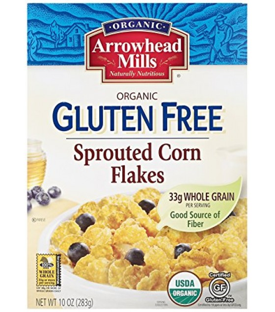 [Arrowhead Mills] Cereals Corn Flakes Cereal GF  At least 95% Organic