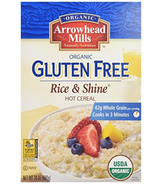 [Arrowhead Mills] Hot Cereals Rice & Shine  At least 95% Organic