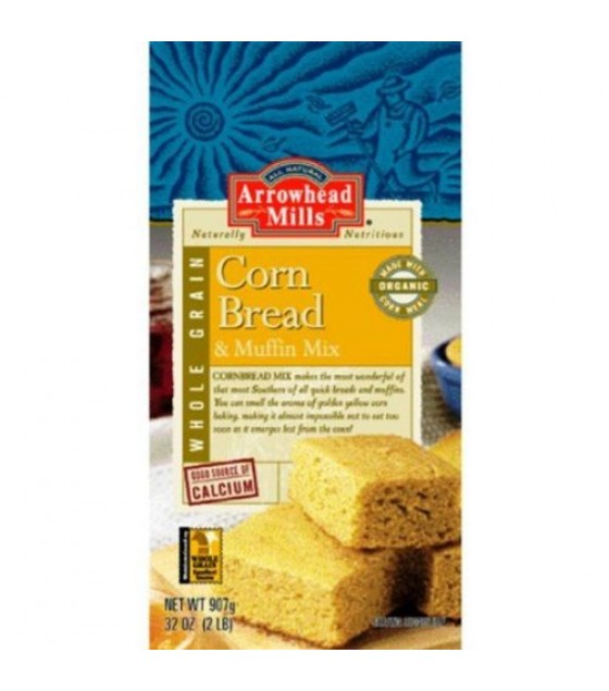 [Arrowhead Mills] Mixes Corn Bread  At least 70% Organic