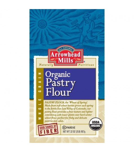 [Arrowhead Mills] Flours Whole Wheat, Pastry  At least 95% Organic