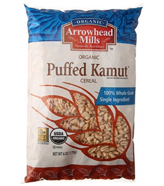 [Arrowhead Mills] Cereals Puffed Kamut  At least 95% Organic
