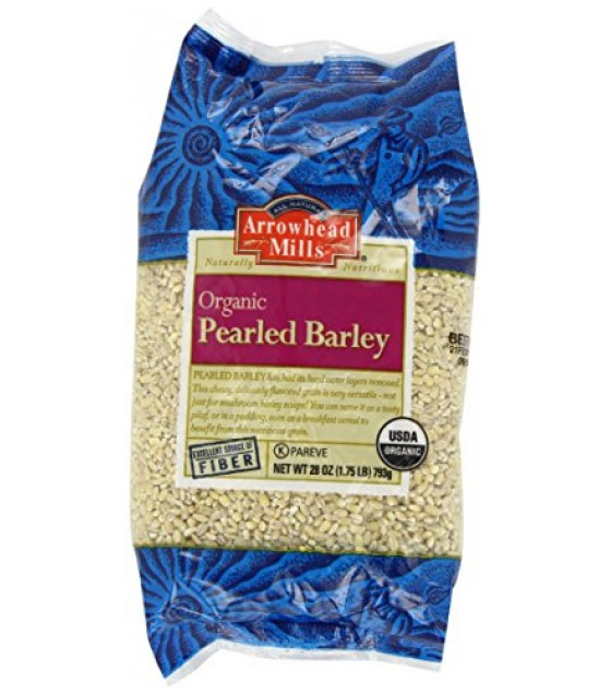 [Arrowhead Mills] Grains Barley, Pearled  At least 95% Organic