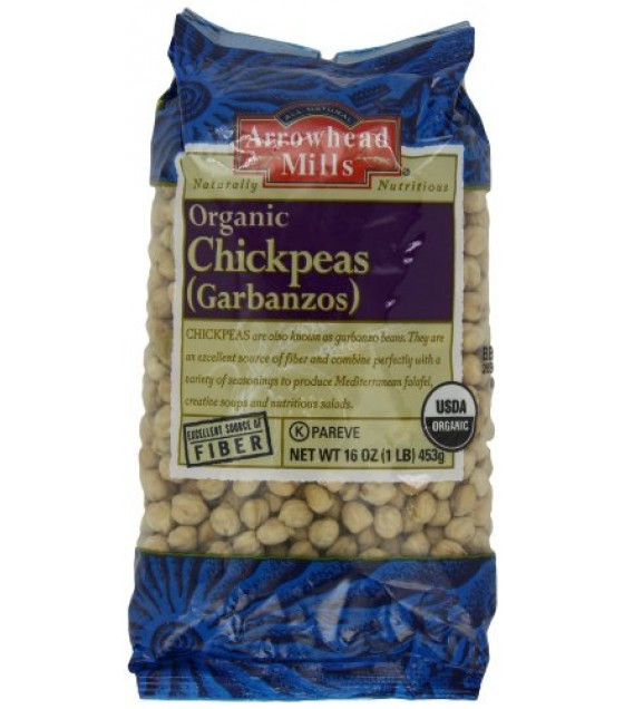 [Arrowhead Mills] Beans Garbanzo  At least 95% Organic