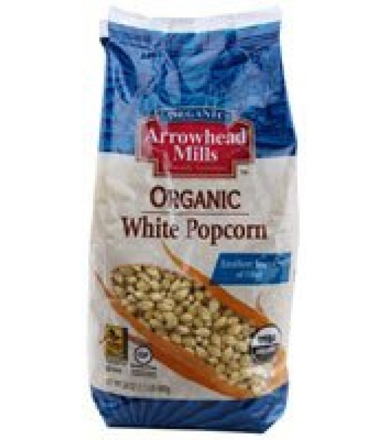 [Arrowhead Mills] Grains White Popcorn  At least 95% Organic
