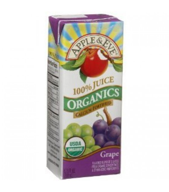 [Apple & Eve] Organic Juices Grape Juice  At least 95% Organic