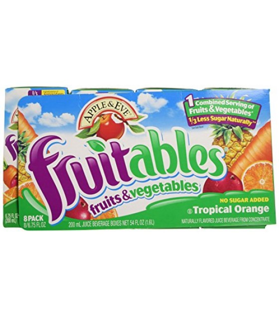 [Apple & Eve] Fruitables Tropical Orange