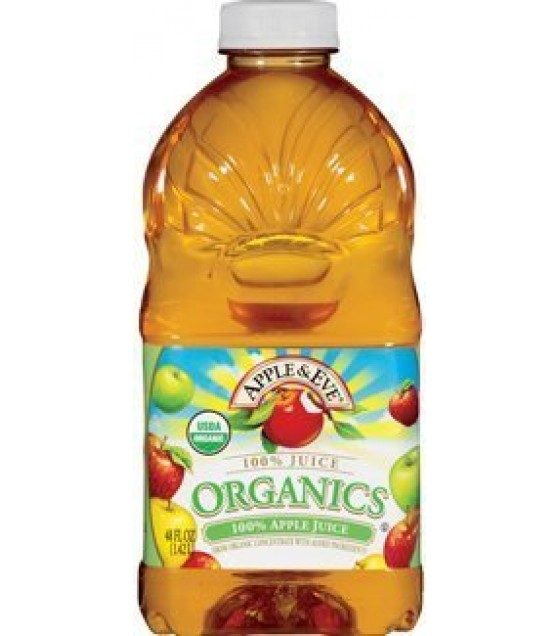 [Apple & Eve] Organic Juices Apple  At least 95% Organic