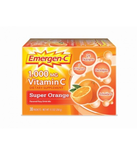 [Emergen C]  Super Orange