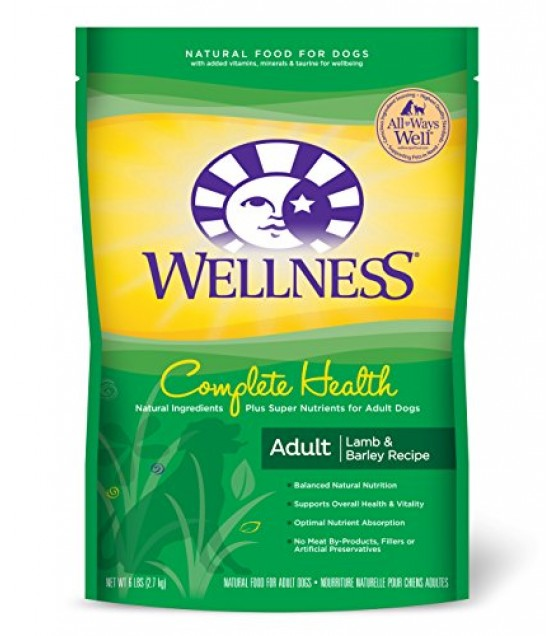 [Wellness] Dry Dog Food Super 5 Mix, Lamb