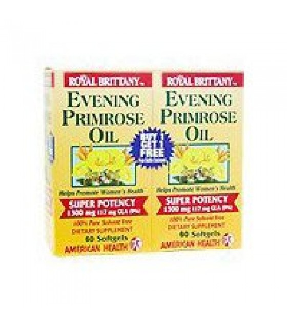 [american Health] Evening Primrose Oil 1300mg Twinpack