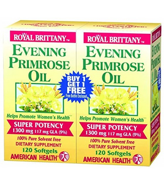 [american Health] Evening Primrose Twinpack 1300mg