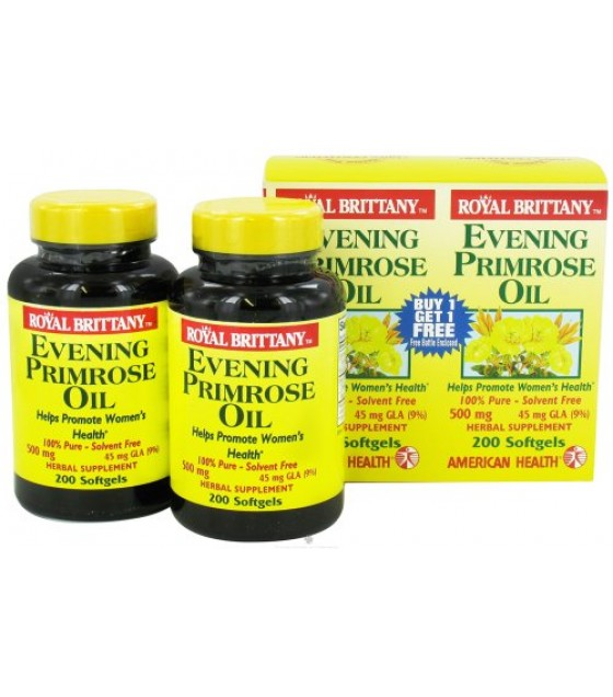 [American Health] Combo Packs Royal Brittany EPO, 500mg