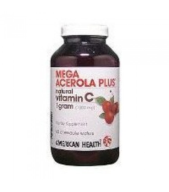 [American Health] Chewable Vitamin C Mega Acerola 1000 mg