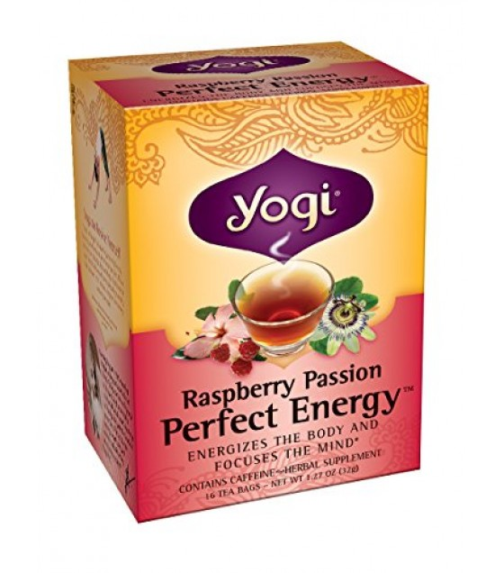 [Yogi Teas] Tea For Your Body Pefect Energy, Rasp Passion