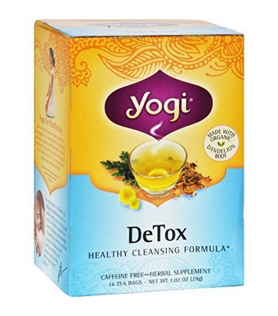 [Yogi Teas] Tea For Your Body Detox  At least 70% Organic