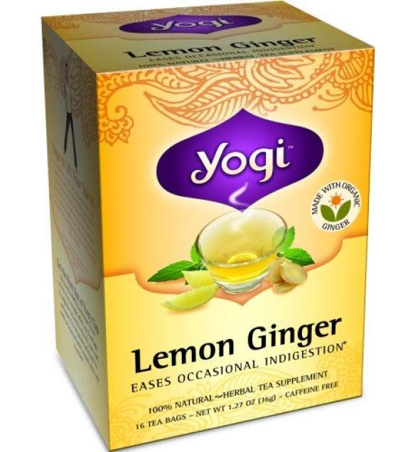 [Yogi Teas] Tea For Your Body Lemon Ginger  At least 70% Organic