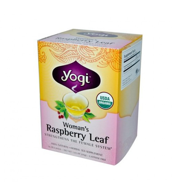 [Yogi Teas] Tea For Your Body Woman`s Raspberry Leaf