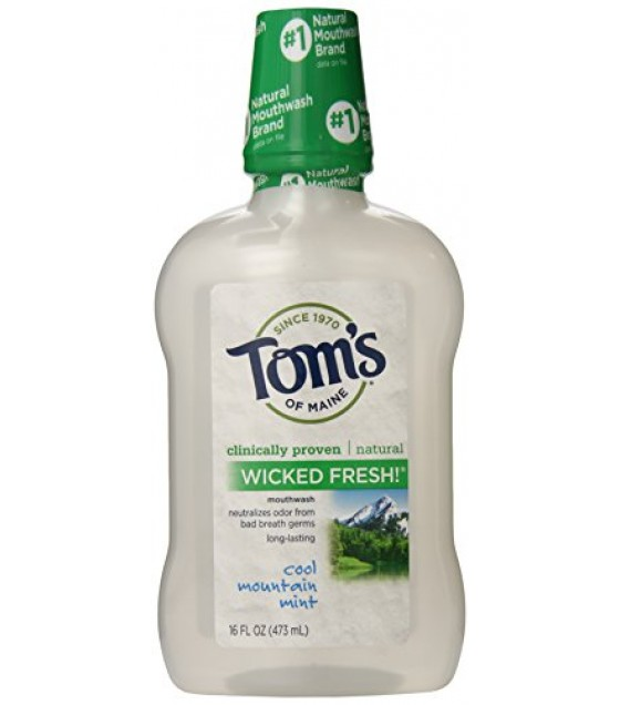 [Tom`S Of Maine] Mouthwash Wicked Fresh!, Cool Mountain Mint
