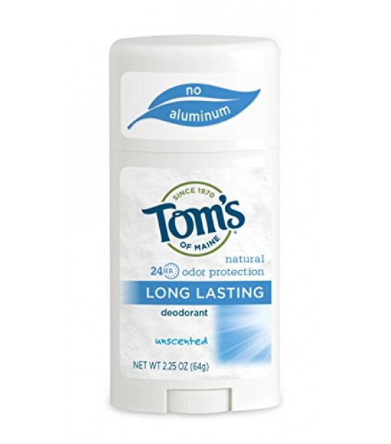 [Tom`S Of Maine] Deodorant Long Lasting Stick, Unscented