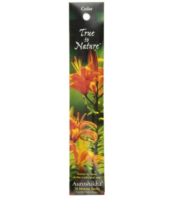 [Auroshikha] True To Nature Incence Cedar