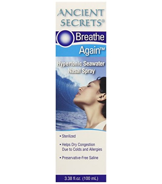[Ancient Secrets] Nasal Cleansing Products Breathe Again, Nasal Spray