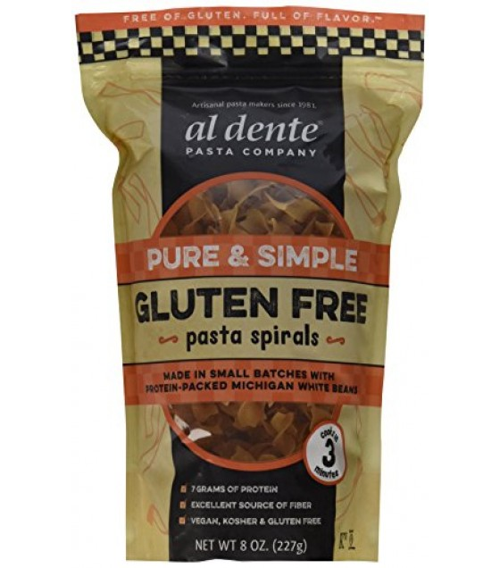 [Al Dente] Pasta Spirals, Gluten Free Pure & Simple