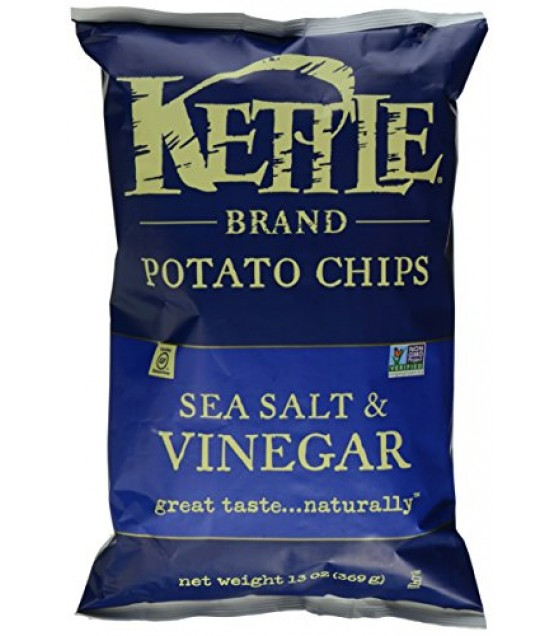 [Kettle Brand] Potato Chips Sea Salt Vinegar