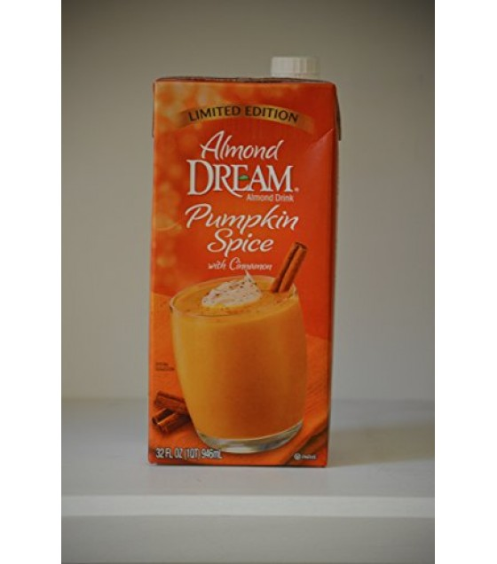 [Almond Dream] Non Dairy Beverages Pumpkin Spice w/ Cinnamon