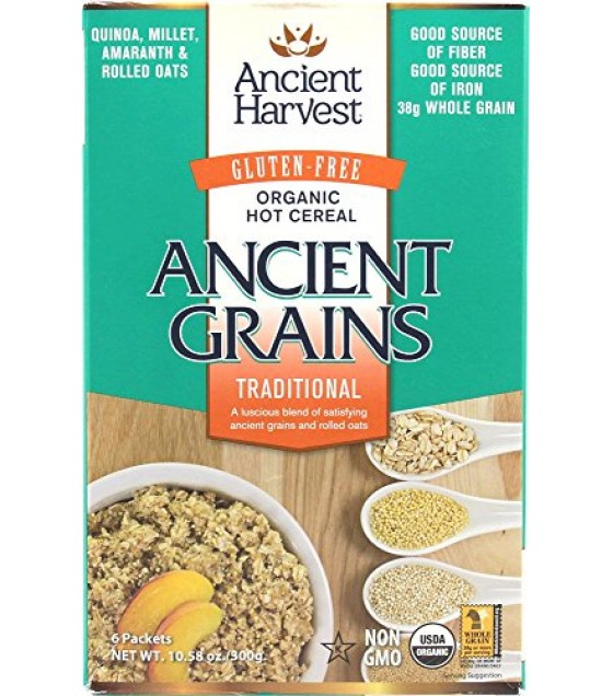 [Ancient Harvest] Hot Cereal Traditional  At least 95% Organic