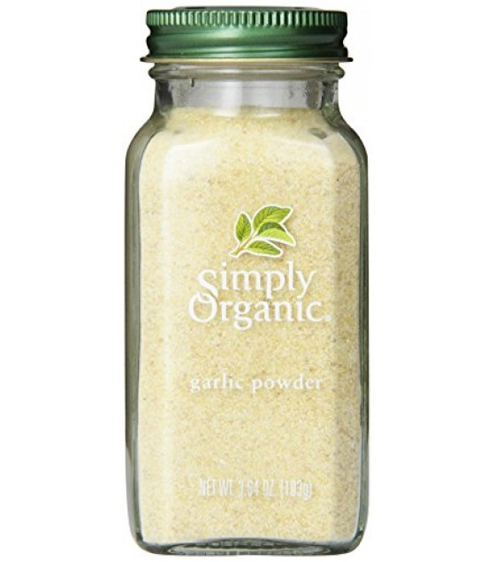 [Simply Organic] Spices Garlic Powder  At least 95% Organic