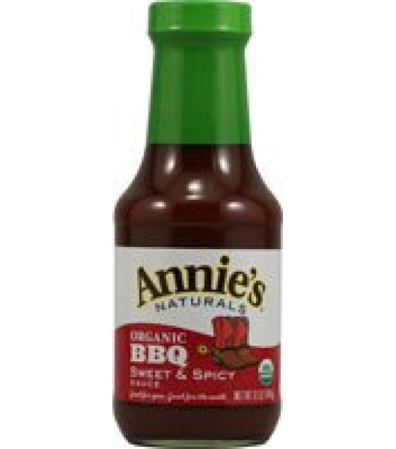 [Annie`S Naturals] Bar-B-Que Sauces Sweet & Spicy  At least 95% Organic