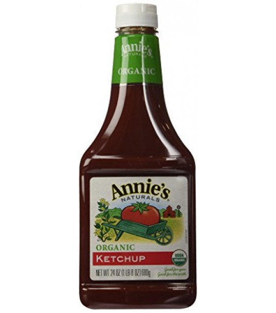 [Annie`S Naturals] Condiments Ketchup  At least 95% Organic