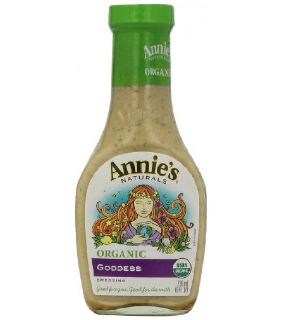 [Annie`S Naturals] Dressings Goddess  At least 95% Organic