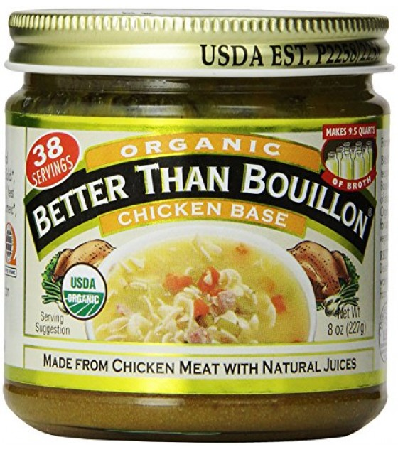 [Better Than Bouillon] Natural Products Soups/Broths Chicken Base  At least 95% Organic