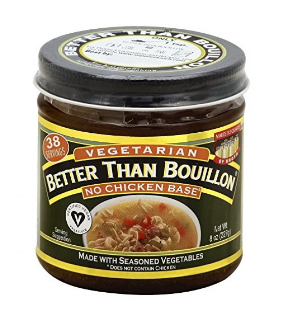 [Better Than Bouillon] Natural Products Soups/Broths Vegan No Chicken Base