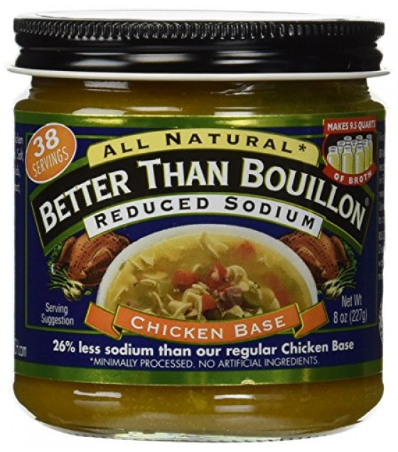 [Better Than Bouillon] Natural Products Soups/Broths Chicken Base, Reduced Sodium