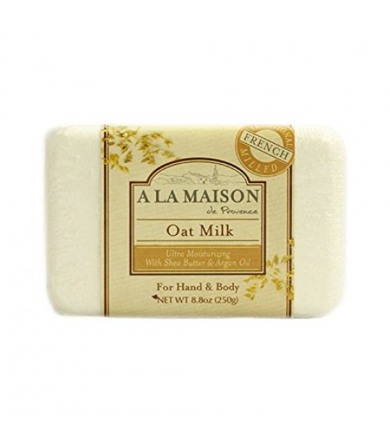 [A La Maison] French Solid Bar Soap Oat Milk