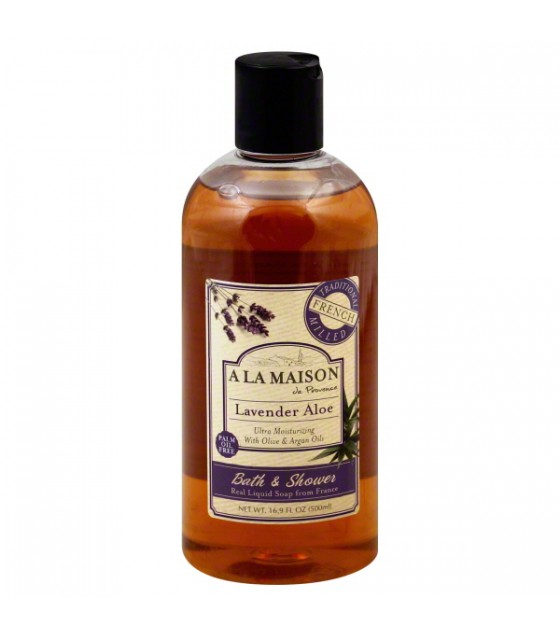 [A La Maison] SHOWER GEL,LAVENDER ALOE