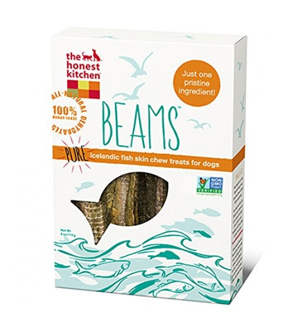[Honest Kitchen] Natural Dehydrated Whole Food For Dogs BEAMS Catfish Skin Sticks